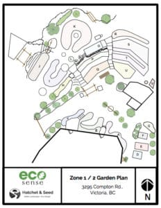 A garden bed map can make crop planning & rotation a breeze!