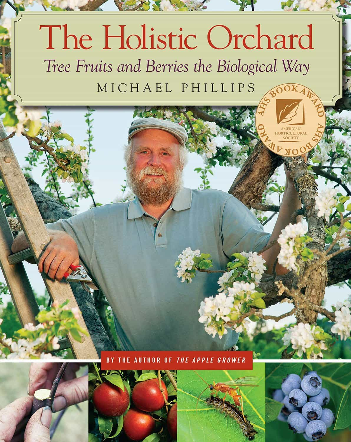 We follow organic orchardist Michael Phillips' Holistic Orchard Spray for trees in need.